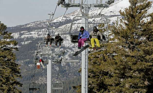 Sierra S Snow Economy Melting In The Midwinter Heat