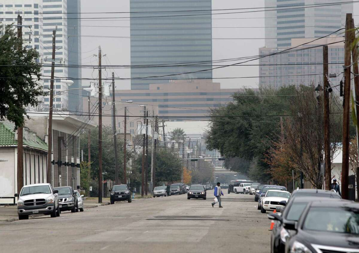 Midtown officials have plans to redesign Caroline Street to make it more appealing, with bikes lanes and trees and on-street designated parking.