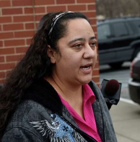 Brenda VanAlstyne speaks to the media as she leaves the Albany County Family Court building following a hearing Wednesday morning, Jan. 21, 2015, in Albany, N.Y. (Skip Dickstein/Times Union) Photo: SKIP  DICKSTEIN / 00030293A