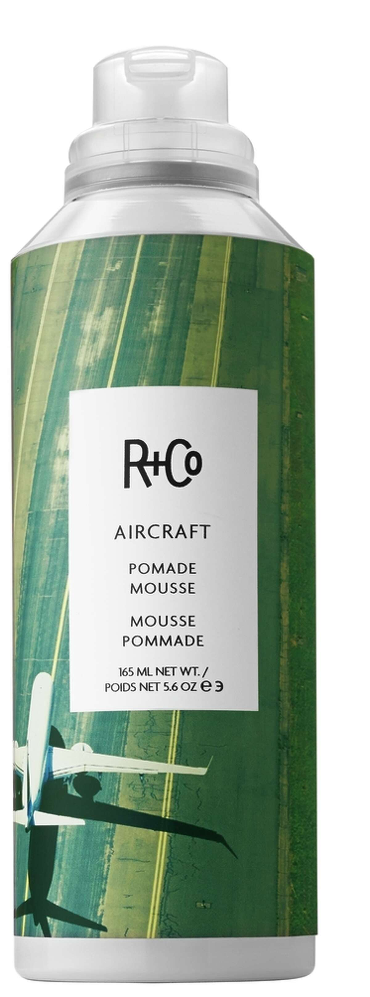 Michelle Snyder recommends R+Co Air Craft Pomade Mousse for a soft, disheveled look.