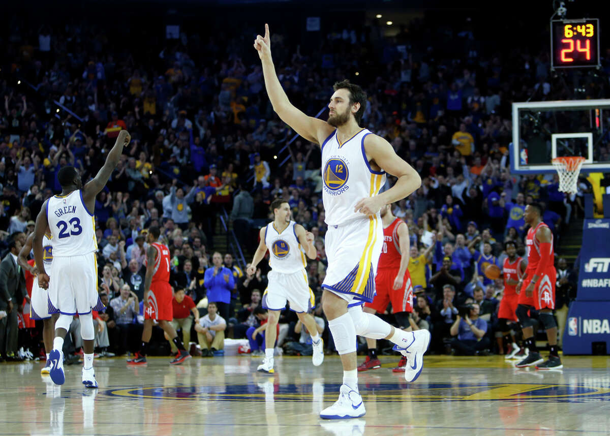 Andrew Bogut has avoided injuries, but not contact, in helping Golden State ascend to the top of the NBA's defensive ranks.
