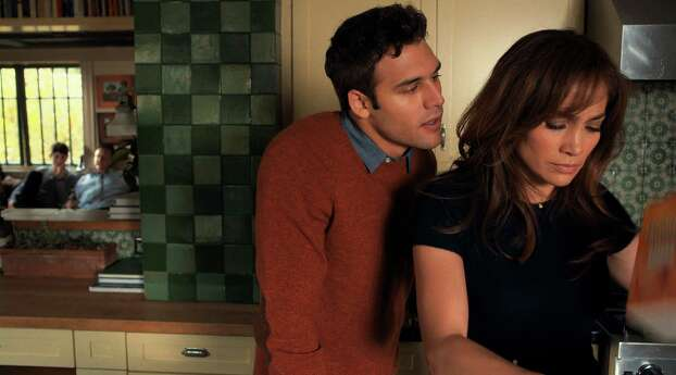 "This photo released by Universal Pictures shows, Ryan Guzman, left, as Noah and Jennifer Lopez as Claire Peterson in a scene from the film, ""The Boy Next Door."" (AP Photo/Universal Pictures, Suzanne Hanover) Photo: Suzanne Hanover, HONS / Associated Press / Universal Pictures"