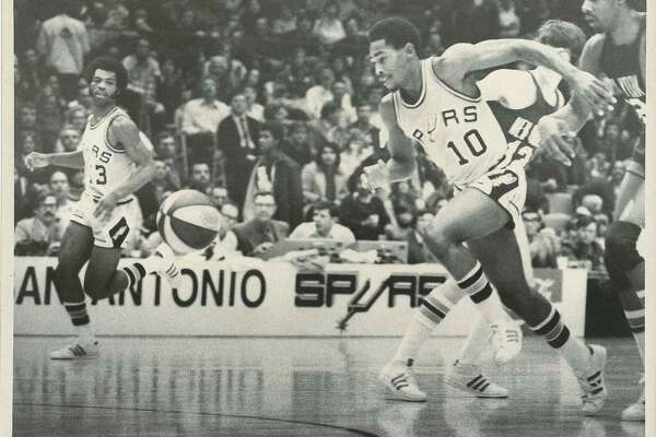 In 1973, a tradition began in the Alamo City: the San Antonio Spurs. The franchise moved here from Dallas, after the team (then named the Chaparrals) suffered continuous struggles to attract fans and have a winning season. These photos are from the Spurs' debut season in their new home, the HemisFair Arena.