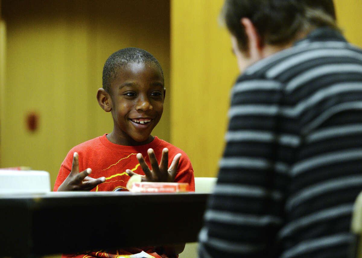 Lamar, BISD students team up for free math tutoring