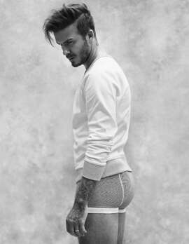 David Beckham for H&M Spring 2015.