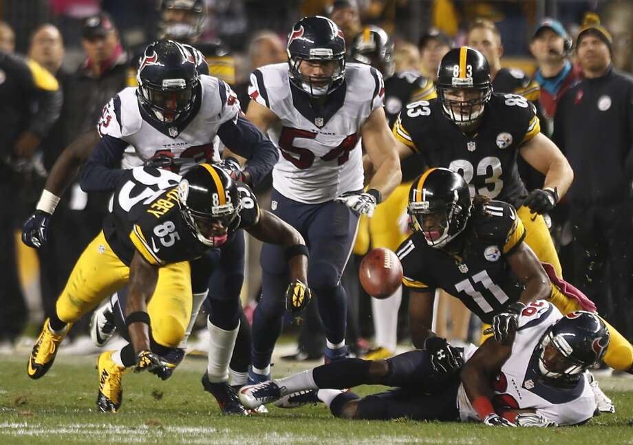 If the Texans thought Sunday's 45-7 loss to the Jaguars was rough, the might be in for a rude awakening no Christmas Day when they face a Steelers team looking to bounce back after suffering a last-second loss to the Patriots. Photo: Brett Coomer, Houston Chronicle
