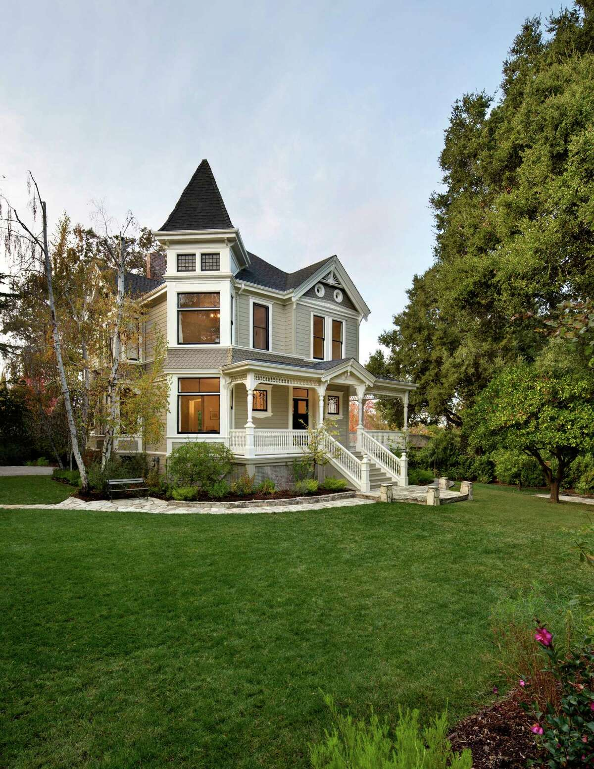 The Queen Anne Victorian was built in 1893 and recently renovated.