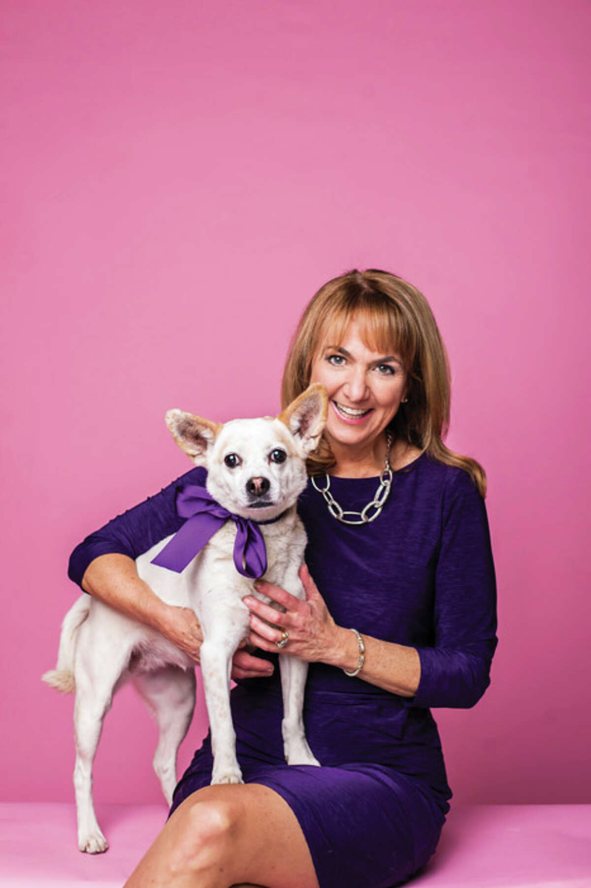 """Pet Owner: Benita Zahn, WNYT Anchor Pet Name: Tiki Age: 7 Breed: """"We figure she's a Chihuahua/Jack Russell mix... maybe a cattle dog.. or, to put it another way, she's a Heinz 57.""""(Photo by Heather Bohm-Tallman/518Life)"""