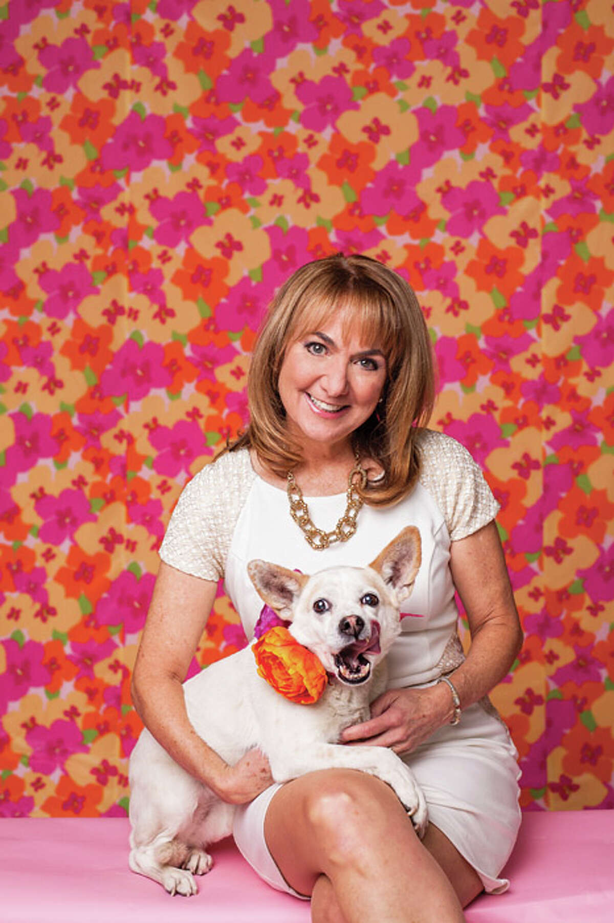 We love our pets! Here are photos submitted by local celebrities and readers. Here's Benia Zahn, WNYT Anchor and her dog Tiki. (Photo by Heather Bohm-Tallman/518Life)