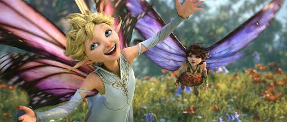 "Touchstone Films Fairies, elves, dwarves and imps are in the spotlight in Lucasfilm animation's ""Strange Magic."""