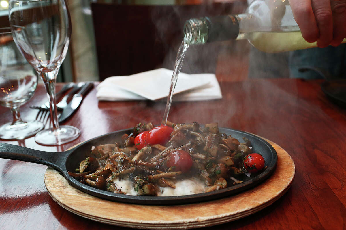 Sizzling Expensive Mushrooms