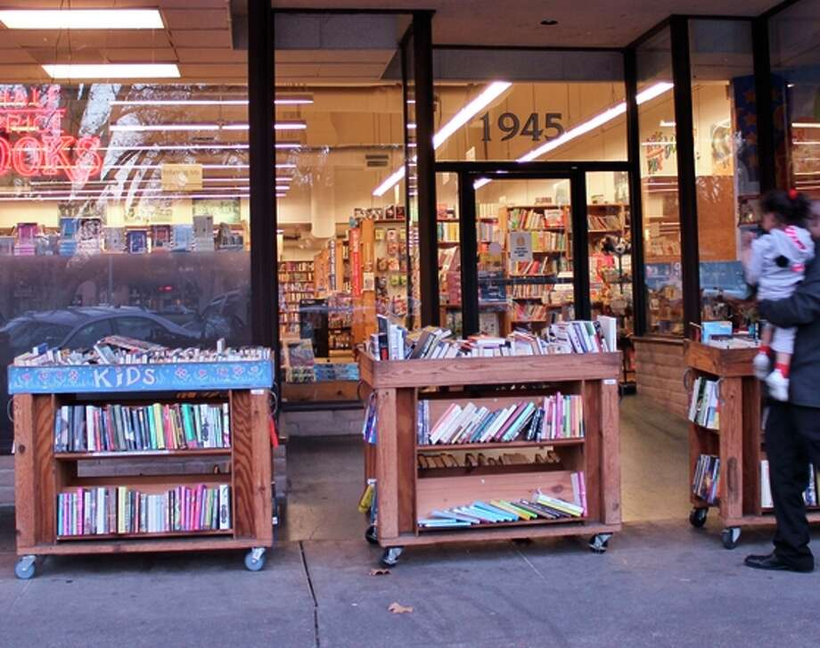 Half Price Books on Mt. Diablo Boulevard in Concord will close in May.  Photo: Stephanie Wright Hession / Special To The Chronicle / ONLINE_YES