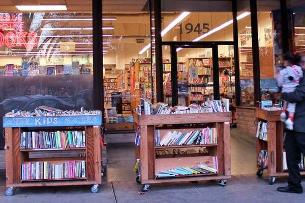 Half-Price Books on Mt. Diablo Boulevard in Concord will tempt reading fans with its bins out front, where super deals on fiction, non-fiction and other categories of used books can be found.