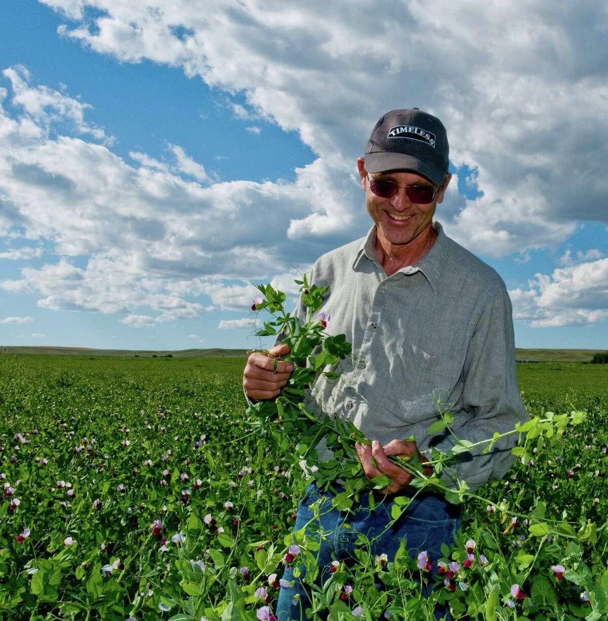 David Oien leads a Montana farm movement based on drought-tolerant lentils.