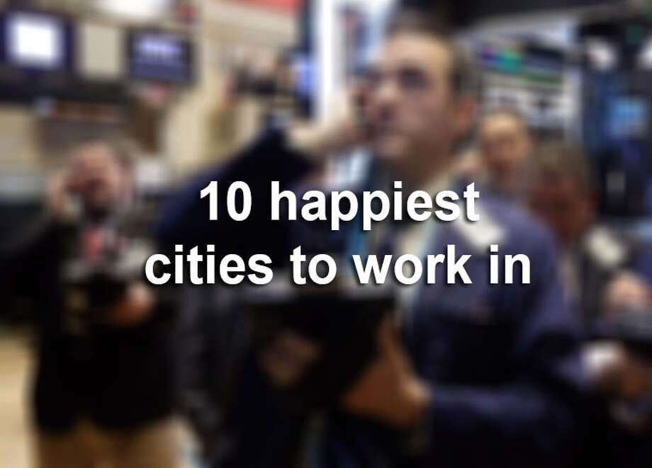 """Forbes.com and CareerBliss listed the """"10 Happiest and Unhappiest Cities to Work In Right Now,"""" and while San Antonio ranked as one of the happiest, Austin and Houston were among the unhappiest.  The list is based on work-life balance, employee relationships with their boss and co-workers, work environment, compensation, opportunities for advancement, company culture and resources. Photo: File"""