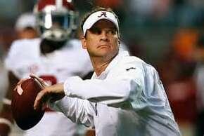 Lane Kiffin is Alabama's offensive coordinator