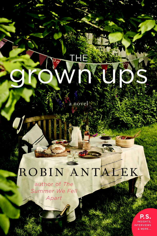 """Saratoga resident Robin Antalek's second novel """"The Grown Ups"""" (William Morrow Paperbacks, 2015) portrays a group of friends who start out as teenagers and grow into an adulthood they had hoped they could manage better than their own parents had. Moving among the points of view of different main characters, it depicts their loves and losses.  Antalek, who also wrote """"The Summer We Fell Apart"""" (William Morrow Paperbacks, 2010) will be at Northshire Bookstore in Saratoga Springs on Thursday for a launch party for the book."""
