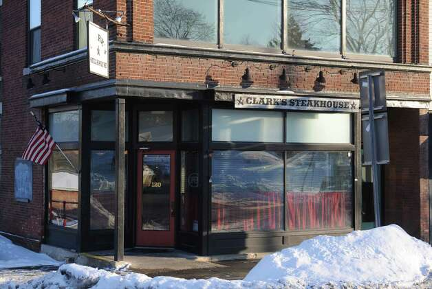 Clark's Steakhouse at 120 Broad Street Thursday Jan. 15, 2015 in Schuylerville, N.Y. (Michael P. Farrell/Times Union) Photo: Michael P. Farrell / 00030206A