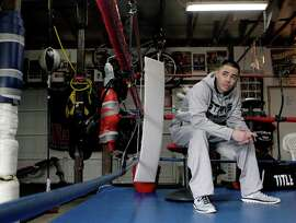 Featherweight boxer Guy Robb, who briefly gave up the sport, has won his past seven fights.