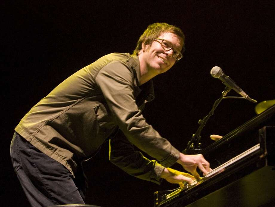 Ben Folds performs at the Vegoose Music Festival on Sunday, Oct. 29, 2006 at Sam Boyd Stadium in Las Vegas. (AP Photo/ Keith Shimada) Photo: AP
