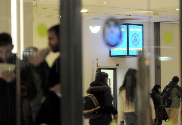 The New York State Police office in the Empire State Plaza Concourse on Thursday Jan. 22, 2015 in Albany, N.Y. (Michael P. Farrell/Times Union) Photo: Michael P. Farrell, Albany Times Union / 00030318A