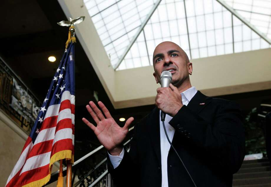 Former California gubernatorial candidate Neel Kashkari, seen in Milpitas in November, championed poverty as a key issue for Republicans. Photo: Paul Chinn / The Chronicle / ONLINE_YES