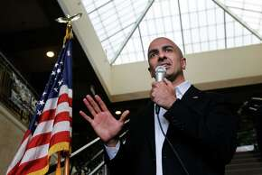 Former California gubernatorial candidate Neel Kashkari, seen in Milpitas in November, championed poverty as a key issue for Republicans.