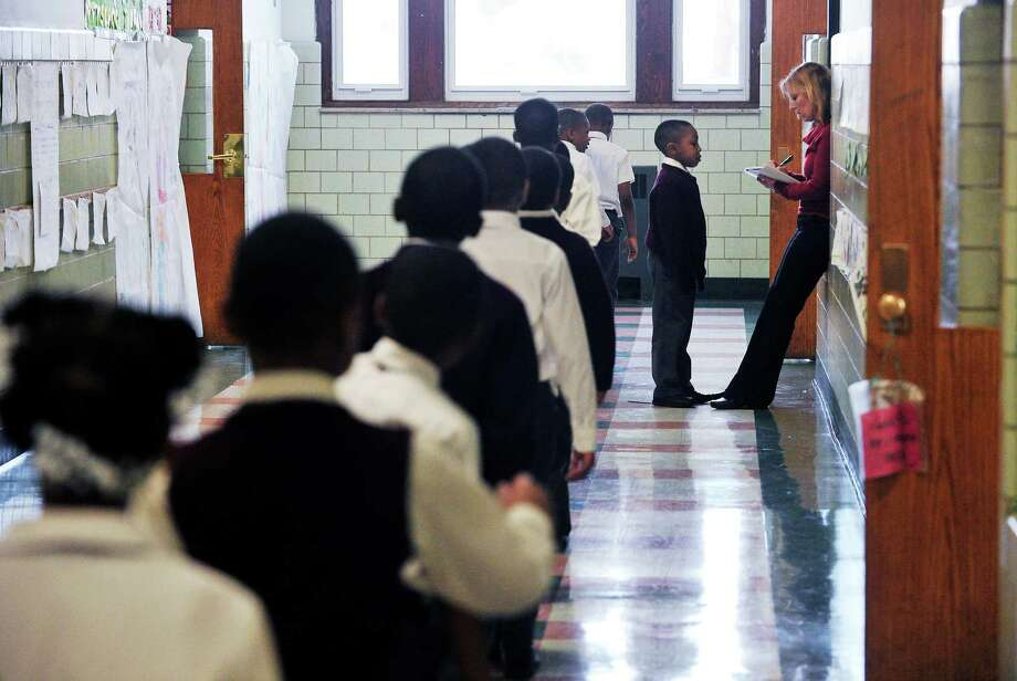 Jumoke Academy in Hartford, in 2011. The Connecticut Department of Education recently released an  investigative report on the Jumoke/FUSE charter chain. Photo: Staff File Photo, Kathleen O'Rourke / Stamford Advocate