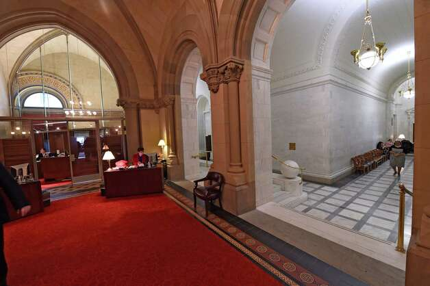 The speaker's office is quiet for the time being Thursday morning Jan. 22, 2015 at the State Capitol in Albany, N.Y. as Assembly Speaker Sheldon Silver answers to charges in Federal Court in New York City.      (Skip Dickstein/Times Union) Photo: SKIP DICKSTEIN / 00030317A
