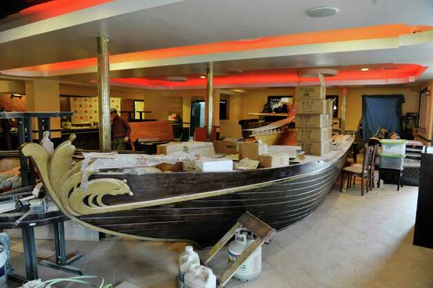 A boat hull will be part of a bar inside Akira, a new hibachi and sushi restaurant located at 385 Route 9W on Thursday, Jan. 22, 2015, in Glenmont, N.Y.    (Paul Buckowski / Times Union) Photo: Paul Buckowski / 00030305A