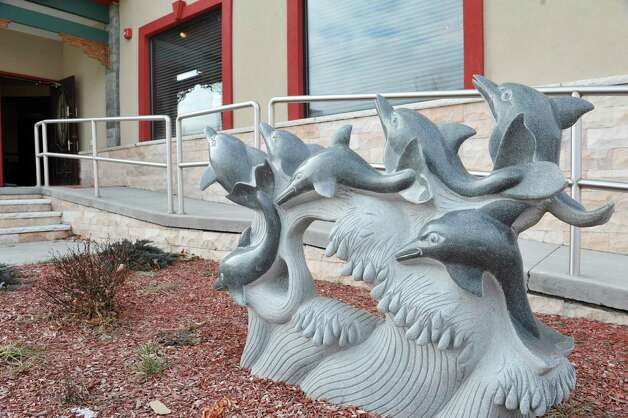 A sculpture is seen near the entrance of Akira, a new hibachi and sushi restaurant located at 385 Route 9W on Thursday, Jan. 22, 2015, in Glenmont, N.Y.    (Paul Buckowski / Times Union) Photo: Paul Buckowski / 00030305A