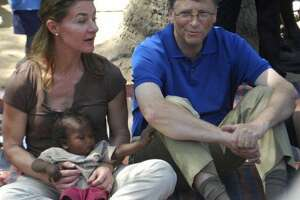 """Bill and Melinda Gates: They are making """"Big Bet"""" that lives of people in poor countries """"will improve faster in the next 15 years than any other time in history."""""""