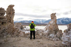 A photographer captures the bizarre landscape of Mono Lake in winter, when it's less crowded.