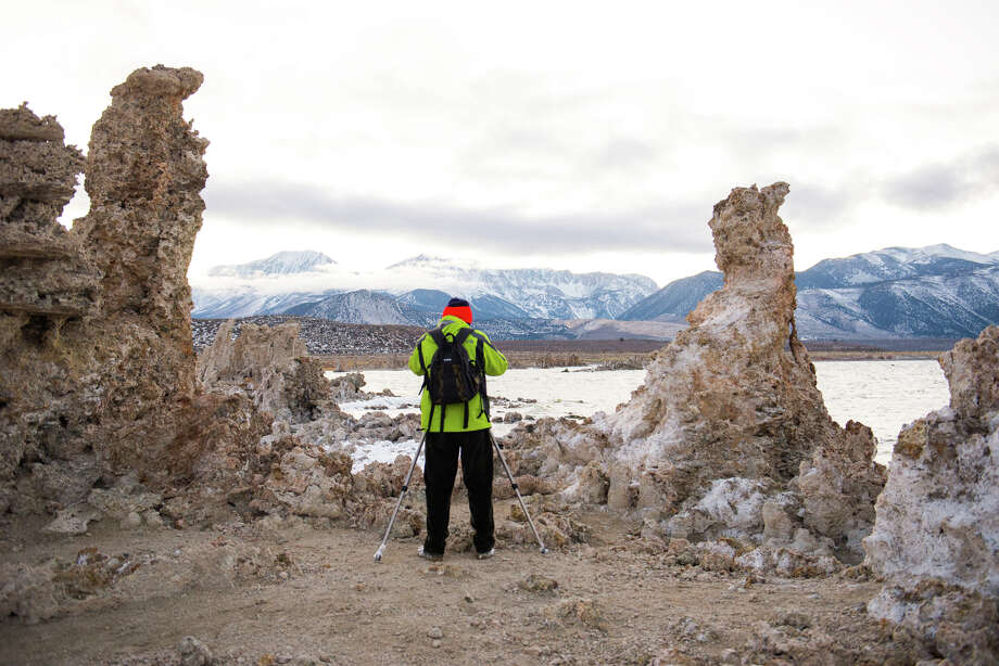 A photographer captures the bizarre landscape of Mono Lake in winter, when it's less crowded. Photo: Kyle Ellison / Special To The Chronicle / ONLINE_YES