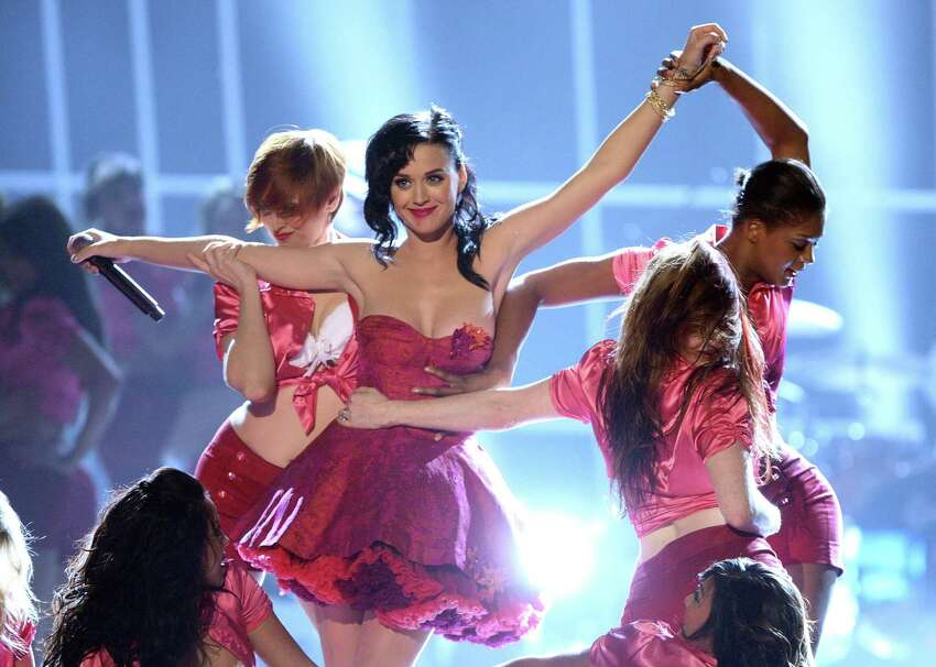 Katy Perry perfoms onstage at Spike TV's 2nd Annual