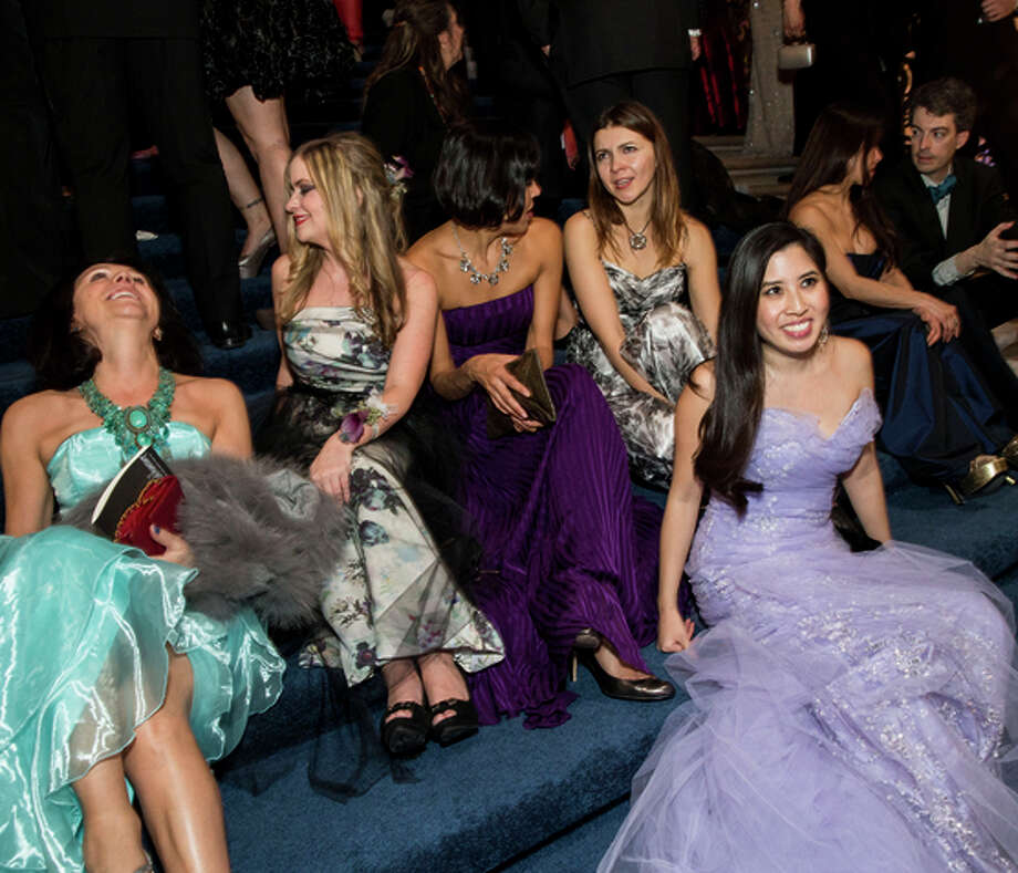 S.F. Ballet 2015 Opening Night Gala attendees relax at the end of the night. Photo: Laura Morton / Special To The Chronicle / ONLINE_YES