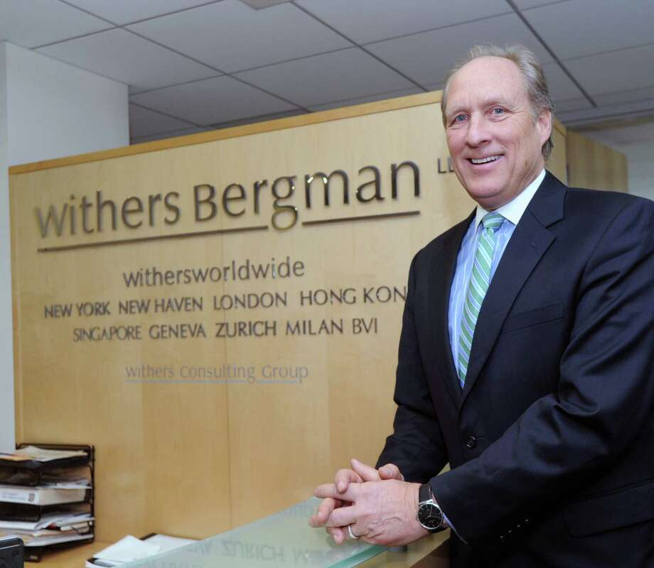 Attorney David Lehn, a partner in the firm, Withers Bergman, at his firm's office in Greenwich, Conn., Friday, Jan. 23, 2015. Photo: Bob Luckey / Greenwich Time