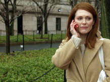 """Most Oscar forecasters believe Julianne Moore will win her first Academy Award on Feb. 22 for """"Still Alice."""""""