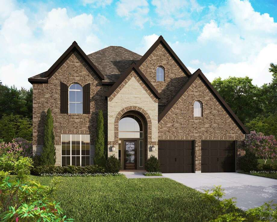 Perry Homes' 3199W E-70 plan will be built for the GHBA fundraiser, the Benefit Homes Project on the homesite in Bridgeland. The Howard Hughes Corporation, the community's developer, donated the homesite. Perry is donating construction management.