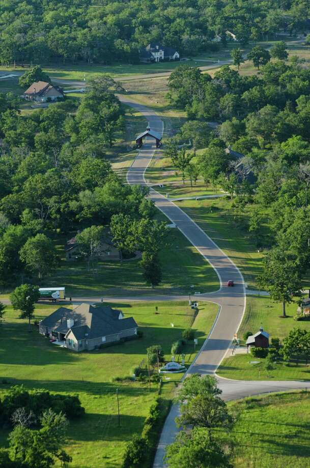 King Oaks features 1- to 3-acre homesites with trees. / ClemSpalding