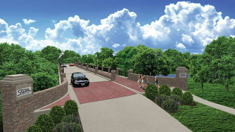 Holcomb Properties has built over 100 new units at the Falls at Imperial Oaks and has finished a new access road that connects the community to the future Grand Parkway Toll Road.
