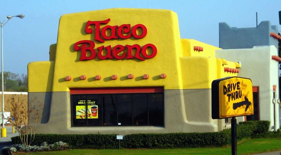 An old-school Taco Bueno. Photo: KamenSentai100 / Cropped By Houston Chronicle / Creative Commons CC BY-SA