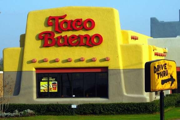An old-school Taco Bueno.