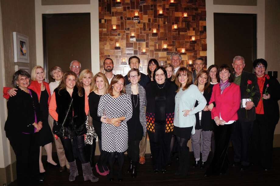 Top Bernstein agents and staff gathered recently for their annual recognition dinner including: Gloria Moorman, Sondra Rosenthal, Estelle Elles, Mindy Tribolet, Neil Caldwell, Pamela Rich, Kristy Kubala, Trent Johnson, Laura Perlman, Maylis Hopewell Curie, Rich Stone, Suzanne Richards, Amy Bernstein, Susanne Pizzitola, Terrell Hillebrand, Roxane Pyle, Mary Turcios, John Paul Torres, Mary Piper, Jane Ayala, Morgan Pickens and Janice Ratliff.