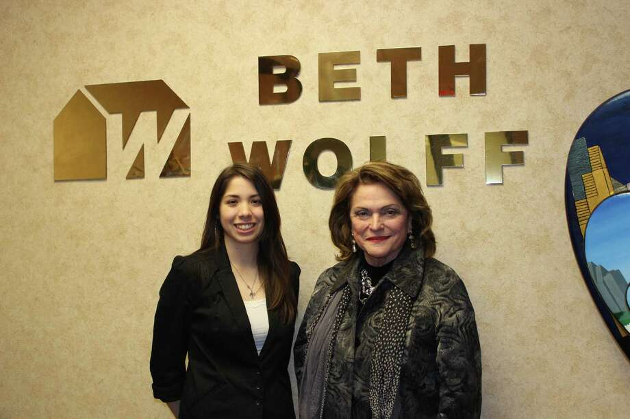 Beth Wolff recently gave Texas A&M senior Lexxus Mayorga  the opportunity to shadow her throughout a day to learn about the real estate.