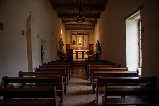 An interior look at Mission San Juan, in south San Antonio in Missions National Historic Park. Photo: Spencer Selvidge / For The Express-News / Copyright 2014, Spencer Selvidge for the San Antonio Express-News