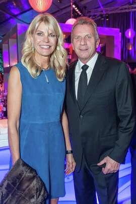 Jennifer Montana and Joe Montana at the UCSF Medical Center Champions Gala on January 10, 2015.