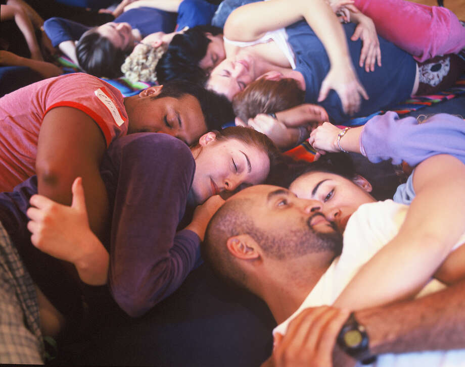 The cuddle party studioIn New York City, you can go to a studio and cuddle up to a complete stranger. But don't worry, there are trained facilitators there to moderate sessions. Photo: Official Website