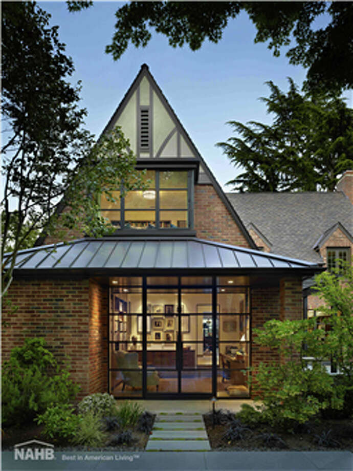 Exterior of the Book House, in Seattle. Photo: Ben Benschneider, Courtesy National Association Of Home Builders.