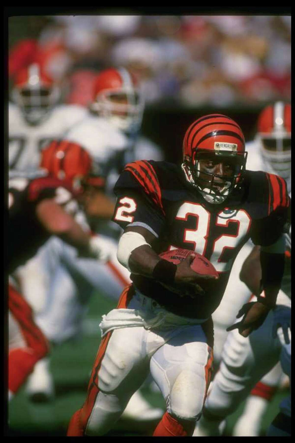 The Goats10. Stanley Wilson (Super Bowl XXIII) The night before the Super Bowl, Bengals running back Stanley Wilson was caught using cocaine in his Miami hotel room. He was suspended immediately, and the 49ers came back for a tremendous 20-16 win the next day. Wilson, however, never did. It was his third and final drug violation, and he was suspended from the NFL for life.